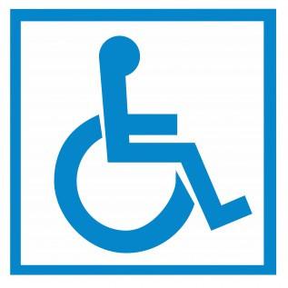 Наклейка Доступность для инвалидов в креслах-колясках
