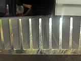 Радіаторний алюмінієвий профіль 122х38 мм, фото 3