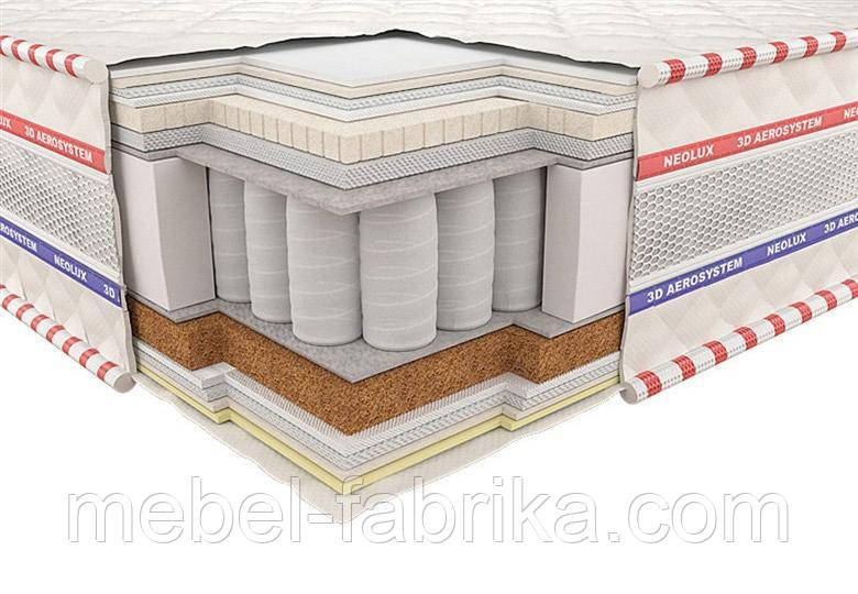 Ортопедичний матрац 3D Статус Зима-літо PS 140х200