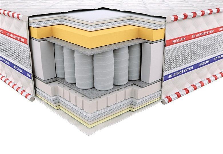 Ортопедический матрас 3D Империал Мемори-Латекс Зима-лето PS 120х190