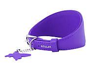 Ошейник Collar ГЛАМУР без украшений для борзых собак д. 29-35 см ш. 65 мм