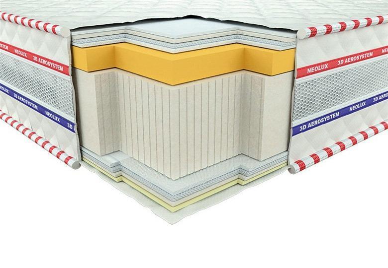 Ортопедичний матрац 3D Галант Меморі Зима-літо 90х200