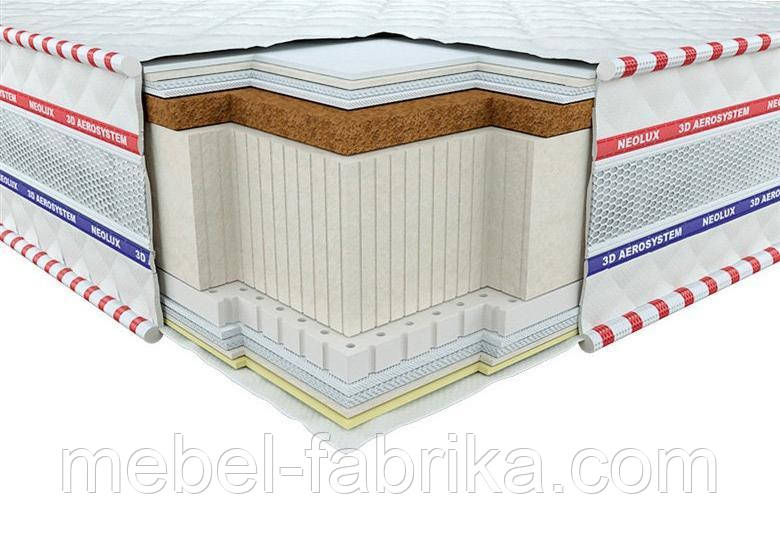 Ортопедичний матрац 3D Галант Кокос-Латекс Зима-літо 160х190