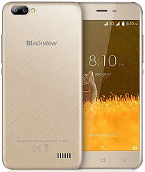 "Blackview A7 gold 1/8 Gb, 5"", MT6580A, 3G"