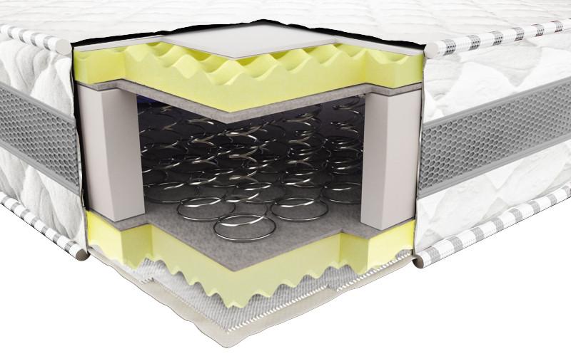 Ортопедический матрас 3Д Престиж (Боннель) 140х190