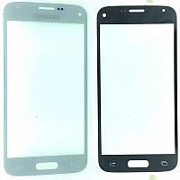 Стекло дисплея Samsung Galaxy S5 Mini G800F White (для переклейки)