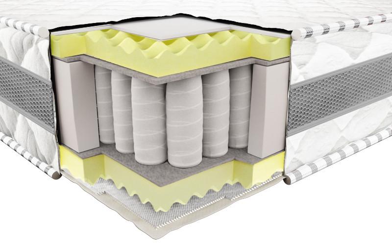 Ортопедический матрас 3Д Престиж Эко (Pocket Spring) 140х190