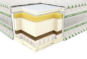 Ортопедичний матрац 3D Aerosystem Neoflex COMFO Зима-літо 140х200