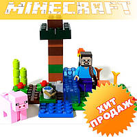 """Конструктор лего майнкрафт Bela Minecraft 10188 """"2в1"""", 57 деталей"""