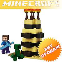 """Конструктор лего майнкрафт Bela Minecraft 10190 """"2в1"""" 53 детали"""