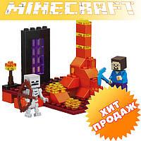 """Конструктор лего майнкрафт Bela Minecraft 10189 """"2в1"""" 62 детали"""