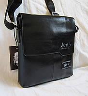 Мужская сумка через плечо барсетка Планшет Jeep 25х22см