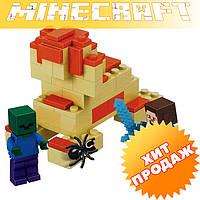 """Конструктор лего майнкрафт Bela Minecraft 10191 """"2в1"""" 66 деталей"""