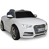 Детский электромобиль -Tilly Audi S5 - компактный, свето-звуковые эффекты Белый