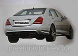 Задний бампер AMG на Mercedes S-Сlass W221, фото 7