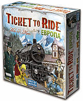 Билет на Поезд: Европа,(Ticket to Ride: Europe), настольная ига