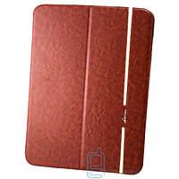 Чехол-книжка для Samsung Galaxy Tab 4 10.1 силиконовая накладка Lishen Коричневый