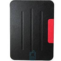 Чехол-книжка для Samsung Galaxy Tab 4 10.1 SM-T530 пластиковая накладка Folio Cover Черный