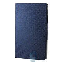 Чехол-книжка для Samsung Galaxy Tab Pro SM-T320 пластиковая накладка Узор Синий