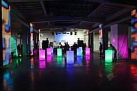 Офисно-торговое освещение 5 м разноцветной светодиодной лентой с управлением в герметичной трубке 5 метров