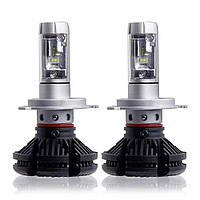 Автолампа LED H4 Philips ZES LED, 50W, 12000LM, 6000K, 9-32V (пара)