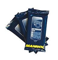 Салфетки для очистки пластиковых деталей и обивки салона автомобиля Mannol 9946 Interior Wipes