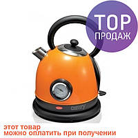 Чайник электрический Camry orange 1,8 л / товары для кухни