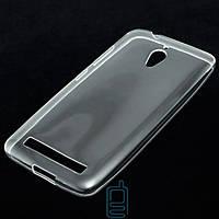 Чехол силиконовый Asus ZenFone Go (ZC500TG) прозрачный