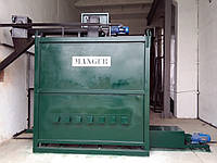 Установка MANGER для утилізації відходів (печь для утилизации отходов)