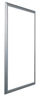 Рамка для вставок для 3-рядного щита VOLTA серебряная