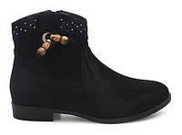 Женские замшевые ботинки, полуботинки на каждый день