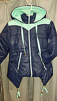 Демисезонная детская курточка для девочки 128, 134