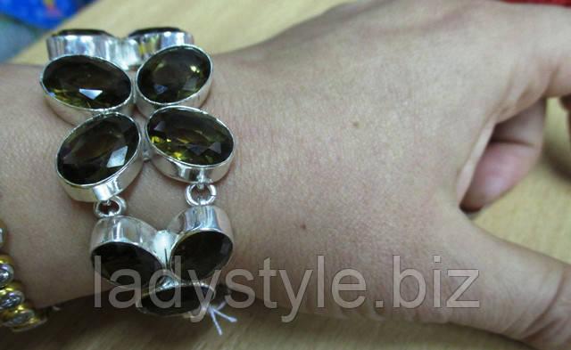 украшения с раухтопазом купить раухтопаз серьги кольцо пертсень