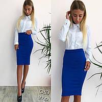 Женская модная юбка карандаш (3 цвета)