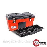 "Ящик для инструмента с металлическими замками 19"" Intertool (BX-1119)"