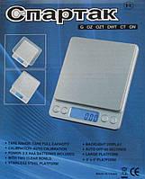 Профессиональные ювелирные весы до 3 кг (шаг 0,1), 2чаши