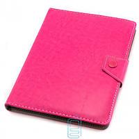 Чехол-книжка 8 дюймов уголки-магнит NEW Розовый