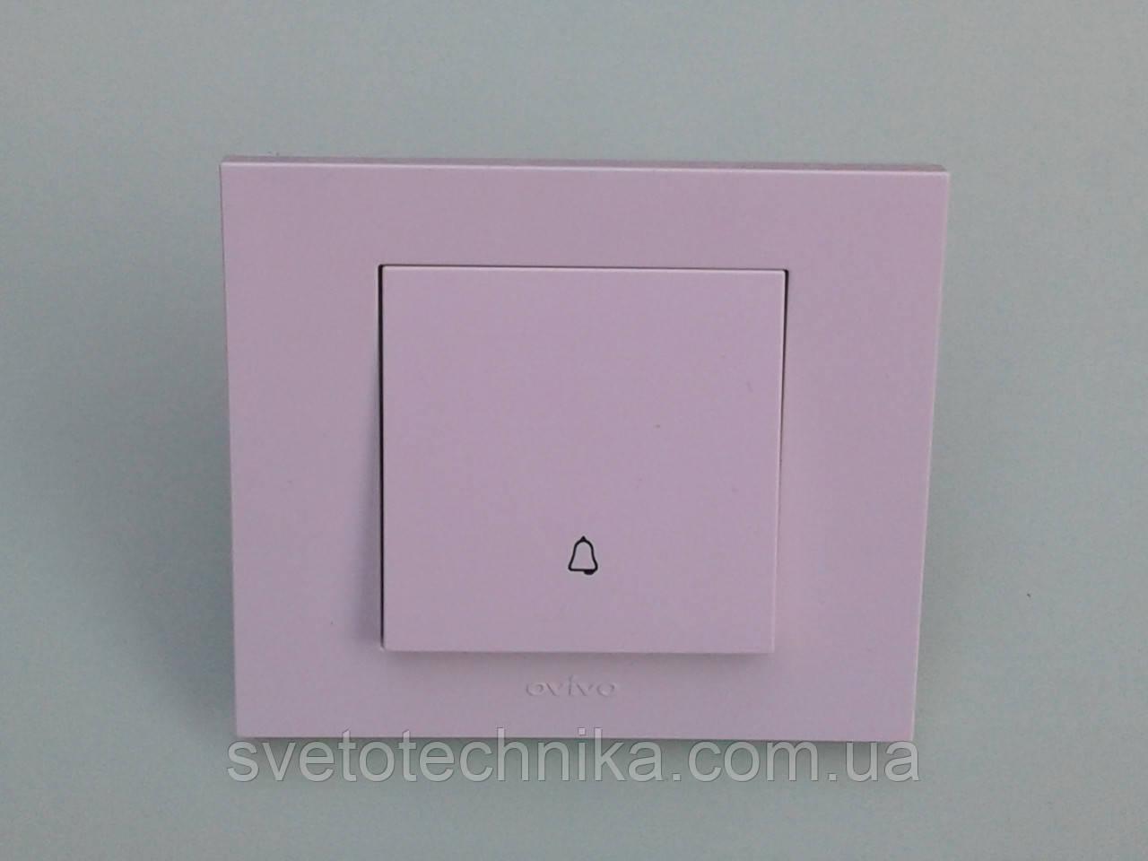 Кнопка звонка  OVIVO Grano (белый)
