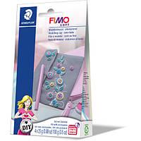 """Набор глины Фимо Софт FIMO Soft """"Сумочка"""", 4блока глины для лепки, сумочка,инструкция, фото 1"""