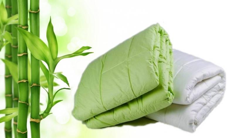 Одеяло стеганое прессованное Бамбук 200*220 Лери Макс, фото 2