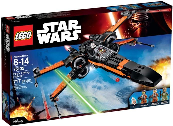 Конструктор LEGO Star Wars Звёздный истребитель X-Wing (Зоряний винищувач X-Wing По Дамерона (75102)