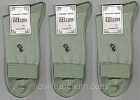 Носки мужские х/б с сеткой Шарм, 27 размер, олива