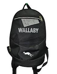 Рюкзак городской черный Wallaby  ( 27x21 см) Art.152
