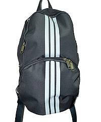 Рюкзак спортивный серый Wallaby (37x16 см) Art.153