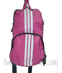 Рюкзак спортивный розовый Wallaby (37x16 см) Art.153