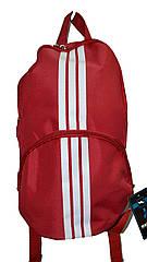 Рюкзак спортивный красный Wallaby (37x16 см) Art.153