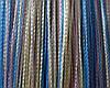Нитяная штора радуга Радуга (нити:розовая+голубая+шампань)