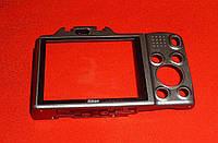 Корпус Nikon L610 Coolpix (задняя часть, стекло дисплея) серый