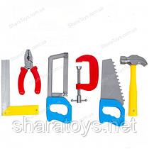 Набор игрушечных инструментов 6 предметов