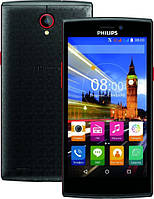 Смартфон Philips S 337 Black/Red 1/8gb Spreadtrum SC7731 2000 мАч